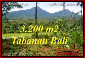 JUAL MURAH TANAH di TABANAN BALI Untuk INVESTASI TJTB319