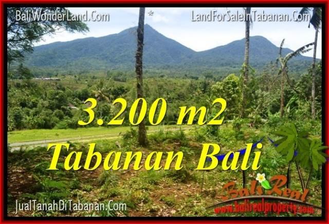 TANAH di TABANAN BALI DIJUAL 32 Are View gunung dan sawah