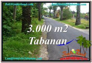 INVESTASI PROPERTY, JUAL TANAH MURAH di TABANAN TJTB297