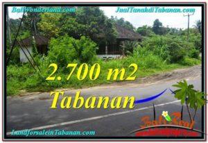 TANAH di TABANAN BALI DIJUAL MURAH Untuk INVESTASI TJTB299