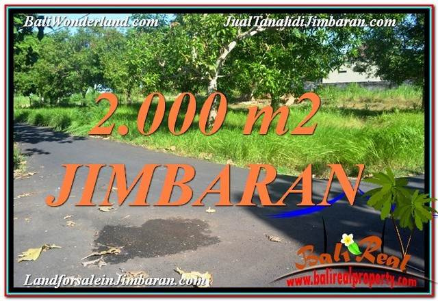 JUAL TANAH MURAH di JIMBARAN BALI 20 Are View Laut dan Jalan Tol