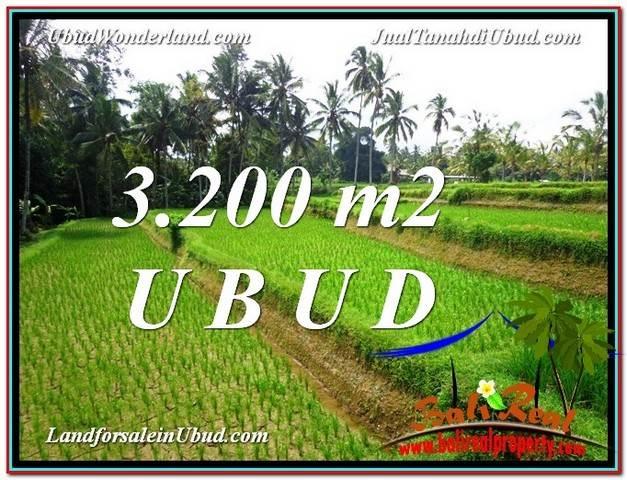 TANAH JUAL MURAH  UBUD 32 Are View Sawah link Villa
