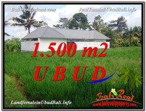 DIJUAL TANAH di UBUD BALI 1,500 m2 di Sentral Ubud