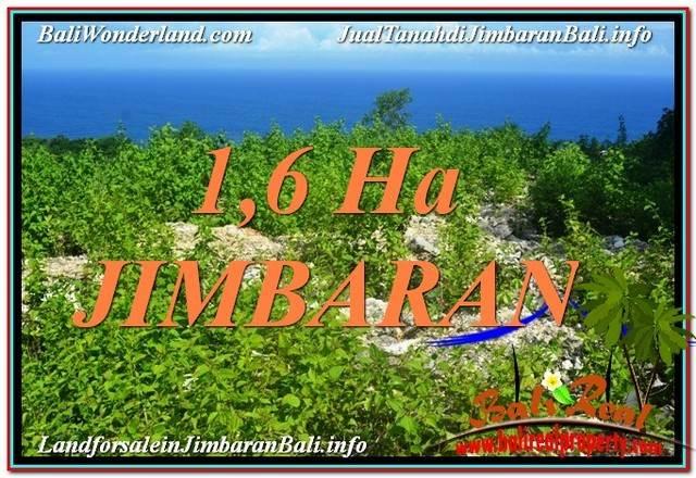 DIJUAL MURAH TANAH di JIMBARAN TJJI112