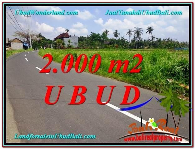 JUAL TANAH MURAH di UBUD BALI 20 Are View  Sawah link Villa