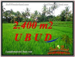 TANAH MURAH di UBUD BALI DIJUAL 24 Are View Sawah link Villa