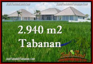 JUAL MURAH TANAH di TABANAN BALI 29.4 Are View Laut, Gunung dan sawah