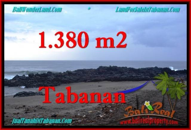 DIJUAL TANAH di TABANAN 1,380 m2 di Tabanan Selemadeg