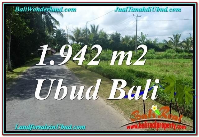 JUAL TANAH MURAH di UBUD BALI TJUB626