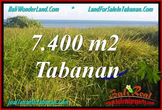 JUAL MURAH TANAH di TABANAN BALI 74 Are View Laut, Gunung dan sawah