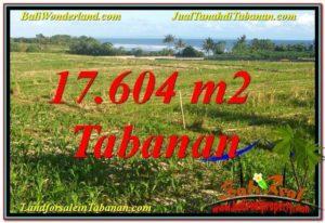 JUAL MURAH TANAH di TABANAN 17,604 m2 View Laut, Gunung dan sawah
