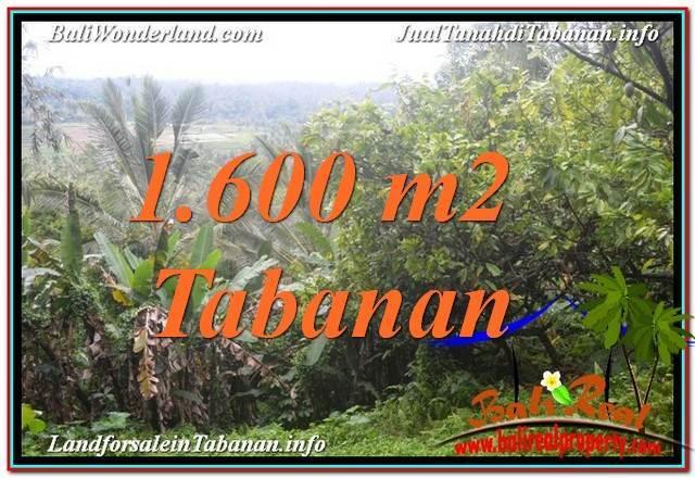 DIJUAL MURAH TANAH di TABANAN 1,600 m2 di Tabanan Selemadeg