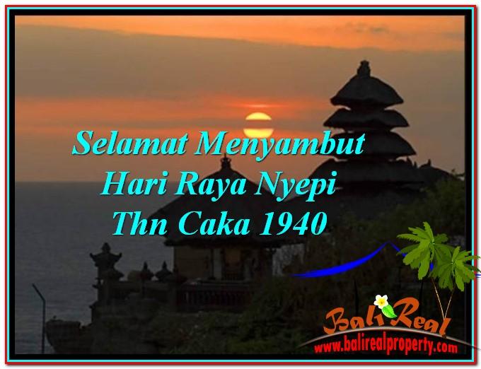 Selamat Menyambut Hari Raya Nyepi Thn Caka 1940