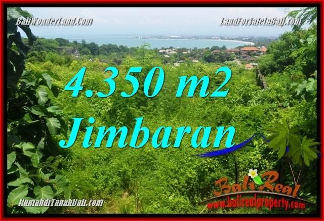 TANAH DIJUAL di JIMBARAN BALI 4,350 m2 di Jimbaran Ungasan