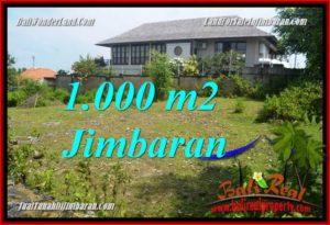 TANAH di JIMBARAN BALI DIJUAL 1,000 m2 View Laut