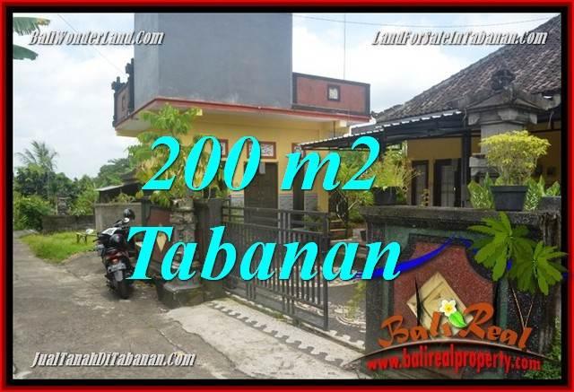 TANAH MURAH di TABANAN JUAL 200 m2  View sawah