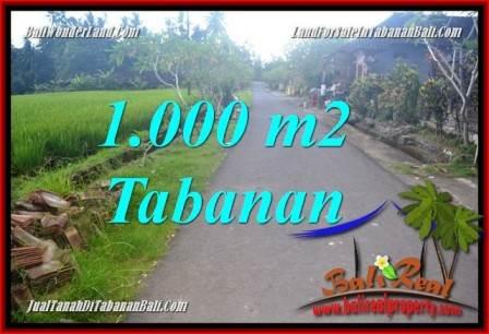 JUAL TANAH di TABANAN BALI Untuk INVESTASI property di Bali TJTB363