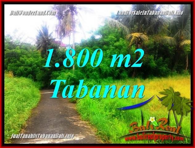 INVESTASI PROPERTY, JUAL TANAH di TABANAN BALI TJTB357