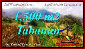 INVESTASI PROPERTY, TANAH MURAH di TABANAN BALI DIJUAL TJTB373