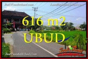 DIJUAL TANAH di UBUD BALI 616 m2 di Sentral Ubud