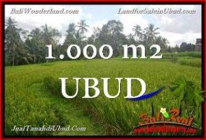 DIJUAL TANAH di UBUD Untuk INVESTASI TJUB653