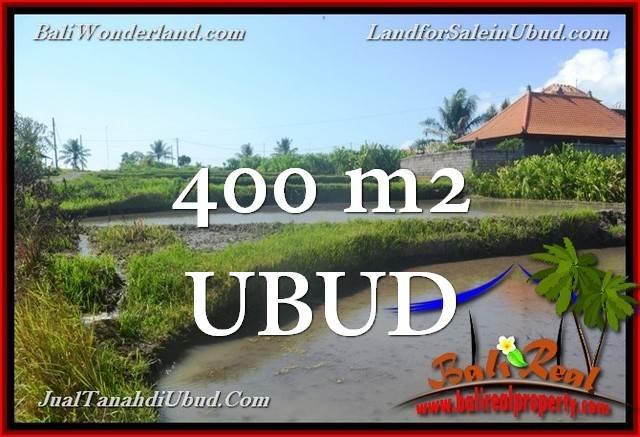 DIJUAL MURAH TANAH di UBUD BALI 400 m2 di Ubud Gianyar