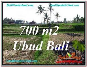 DIJUAL MURAH TANAH di UBUD BALI TJUB666
