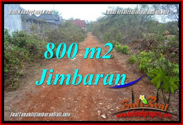JUAL MURAH TANAH di JIMBARAN BALI 800 m2 di JIMBARAN UNGASAN