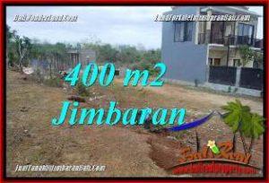 JUAL TANAH di JIMBARAN 400 m2 LINGKUNGAN VILLA