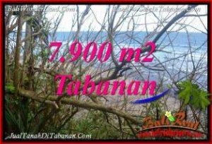 TANAH di TABANAN BALI DIJUAL 79 Are TEPI PANTAI