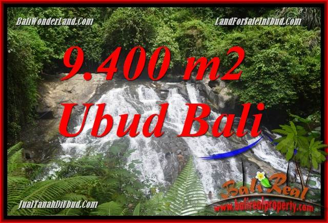JUAL Murah Tanah di Ubud 94 Are View sungai air terjun