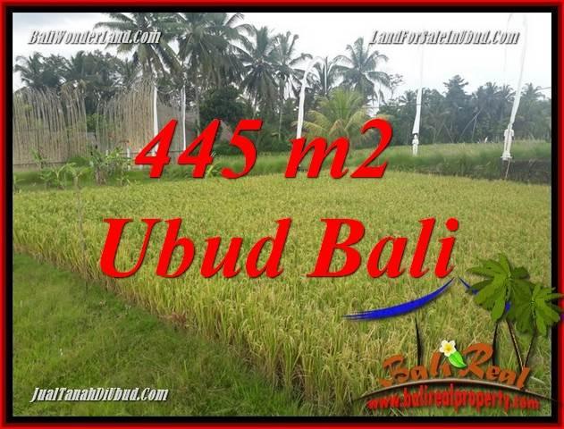 Dijual Tanah Murah di Ubud Bali Untuk Investasi TJUB695