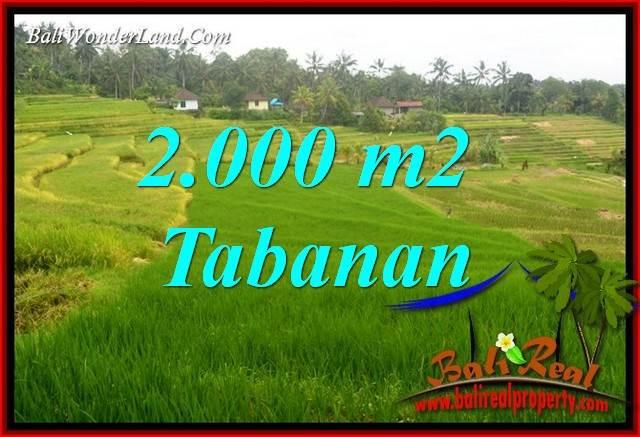 JUAL Tanah di Tabanan Bali 2,000 m2 di Tabanan Selemadeg