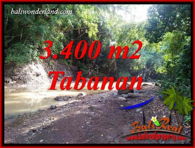 Tanah Murah di Tabanan Bali Dijual 3,400 m2 di Tabanan Selemadeg