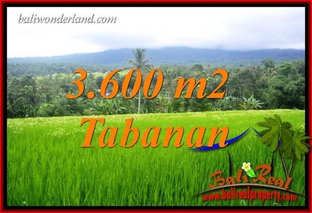 Tanah Murah Dijual di Tabanan 3,600 m2 di Tabanan Penebel