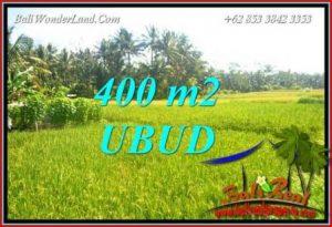 JUAL Tanah di Ubud Bali 400 m2 di Sentral Ubud