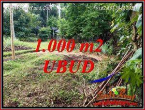 Dijual Murah Tanah di Ubud 1,000 m2 di Sentral Ubud