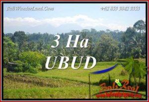 JUAL Tanah Murah di Ubud Bali 300 Are View Sawah, Gunung dan Sungai