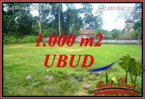 Investasi Property, jual Murah Tanah di Ubud Bali TJUB728