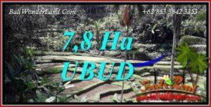 JUAL Tanah di Ubud Bali 78,000 m2 di Ubud Payangan