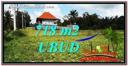 INVESTASI PROPERTI, DIJUAL TANAH MURAH di UBUD BALI TJUB767