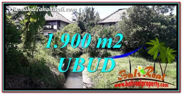 TANAH DIJUAL di UBUD BALI Untuk INVESTASI TJUB759