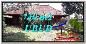 DIJUAL MURAH TANAH di UBUD BALI 740 m2 di Ubud Pejeng